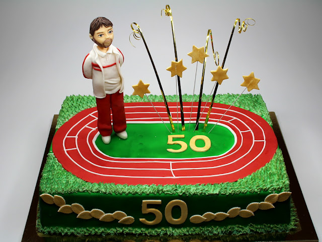 50th Birthday cake with delivery in London