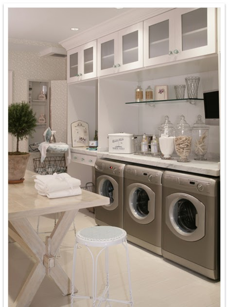 A Serene Life For Me Designer Inspiration My Laundry Room