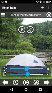 تحميل تطبيق Relaxing Rain للاسترخاء مع صوت المطر موسيقى هادئة