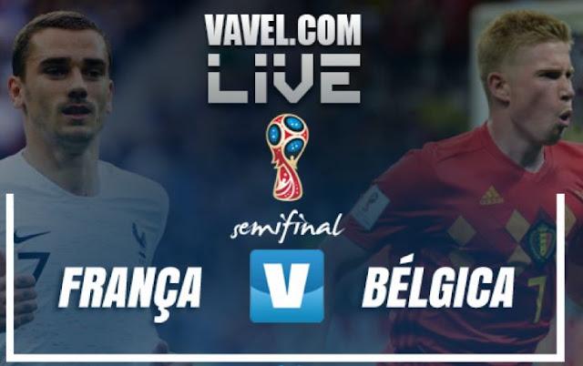 Assistir Jogo França x Bélgica Ao Vivo pela Copa da Rússia