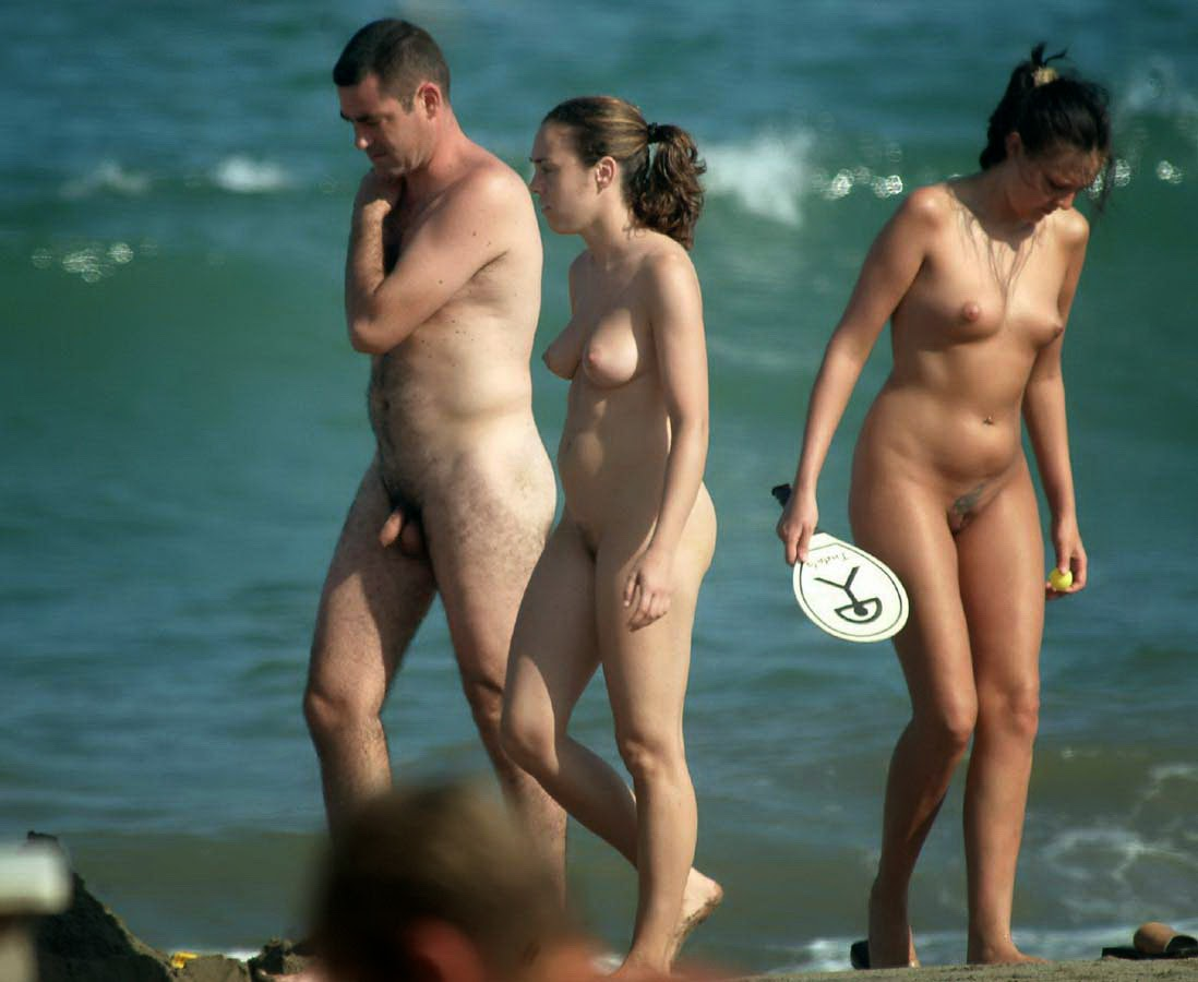 Nude Group Beach