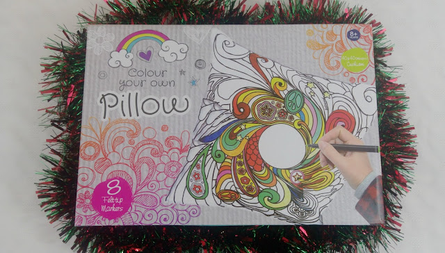 Boxed Colour Your Own Pillow game
