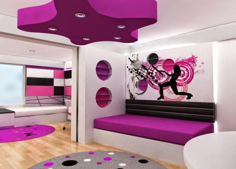 Dormitorio Pequeño Y Femenino Home Improvement Design