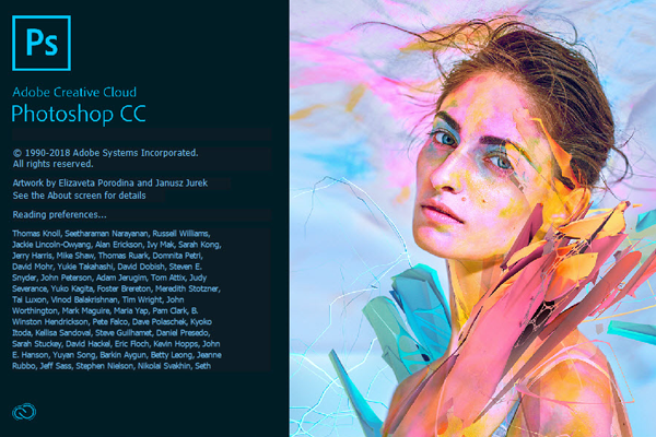 تحميل الإصدار الجديد من ادوبى فوتوشوب سي سي 2018 نسخة منشطة + التف3يل للنسخة الكاملة (32&64) بت | Adobe photoshop cc 2018