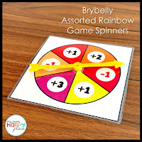 BryBelly Rainbow Spinner Arrows