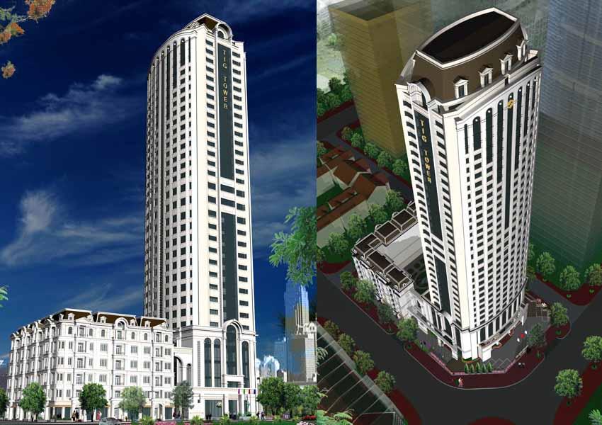 Dự án Thăng Long Royal Plaza Mạc Thái Tông