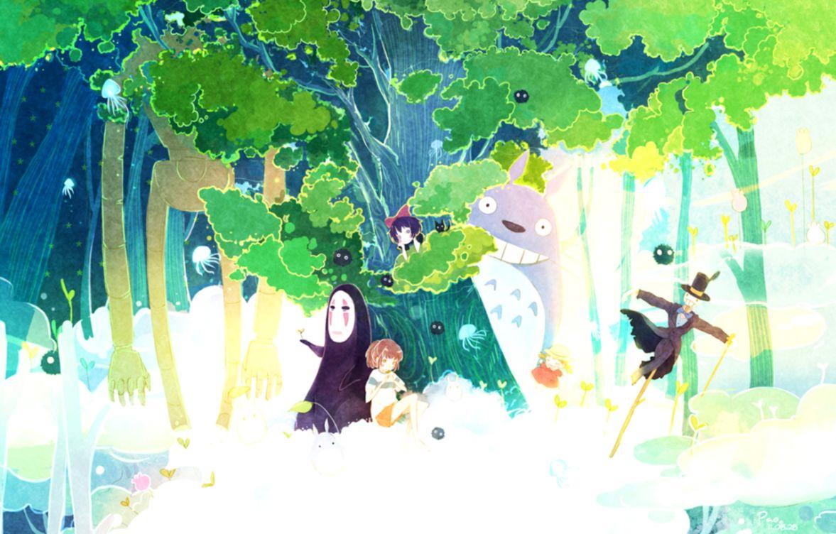 Studio Ghibli Wallpaper Wallpapers Legend
