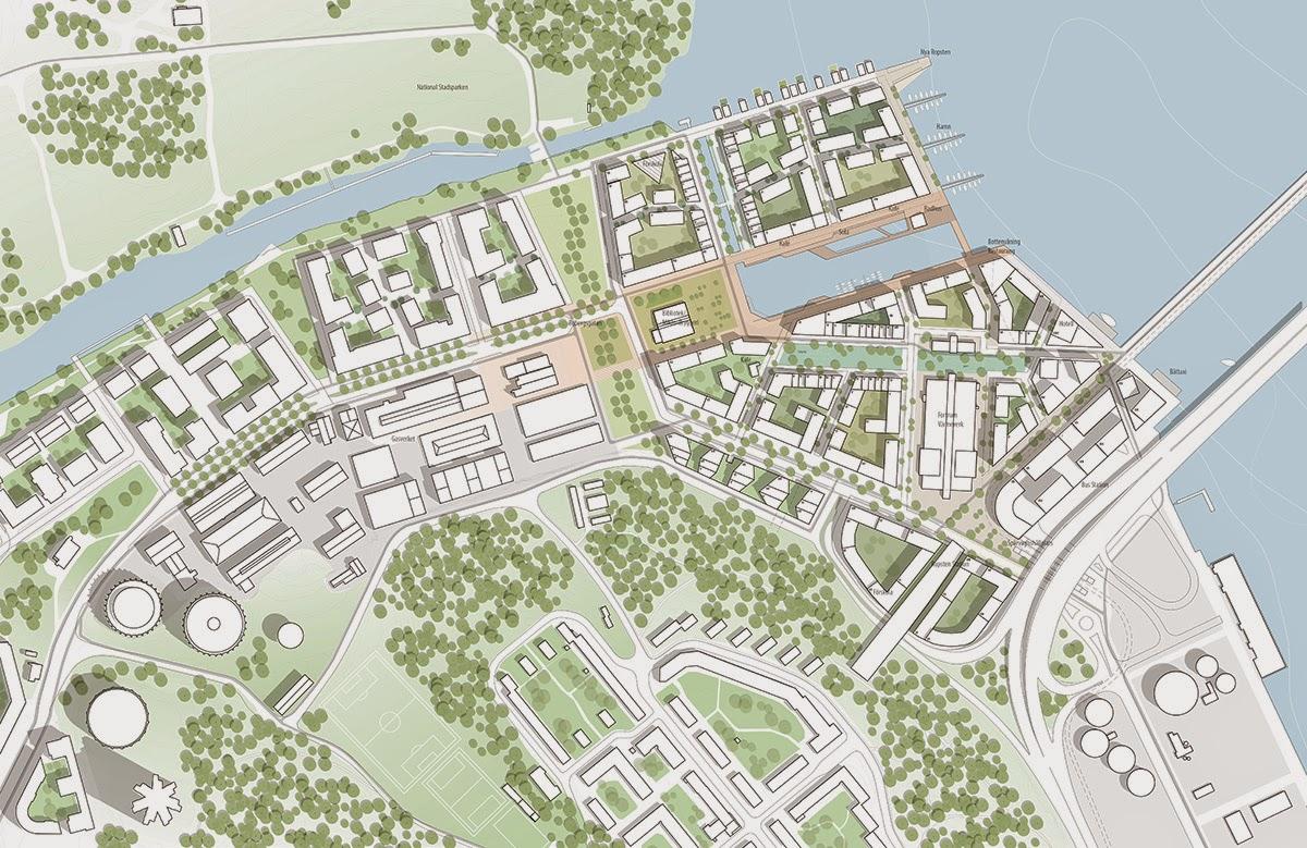 norra djurgårdsstaden karta Stadsutvecklingen: Norra Djurgårdsstaden norra djurgårdsstaden karta