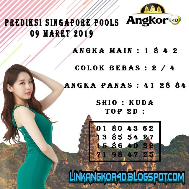PREDIKSI SINGAPORE POOLS 09 MARET 2019