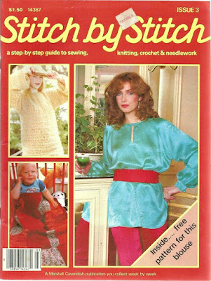 1981 Knitting Magazine Stitch By Stitch
