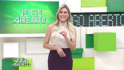 A apresentadora Renata Fan - Divulgação/Band