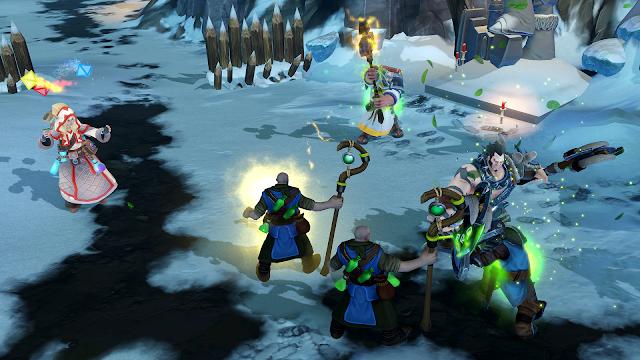 Champions of Anteria recibe gratis dos nuevos campeones y un pueblo