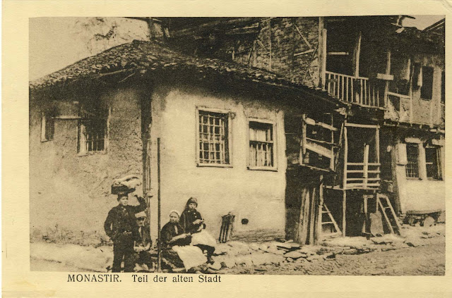 Jewish Neighborhood, Bitola during WW1