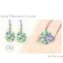 Anillo y Pendientes Circulares en Macrame