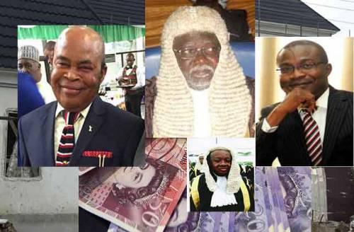 arrest corrupt nigerian judges bribe abuja