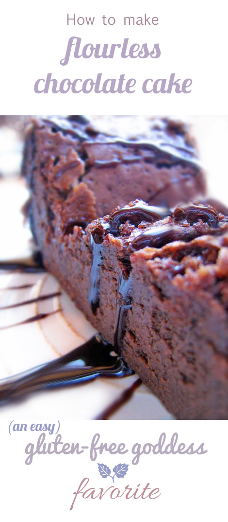 Flourless Chocolate Cake - Easy Gluten-Free Recipe