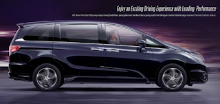 Eksterior Honda All New Honda Odyssey
