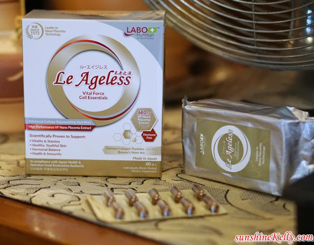 Labo Nutrition, LABO Le Ageless Vital Force Cell Essentials, LABO Le Revital Intense Cell Activator, Beauty Review, Anti Aging Supplement Skincare Review, Labo Nutrition Review, Oral Supplement, Skincare Review, Beauty Blogger