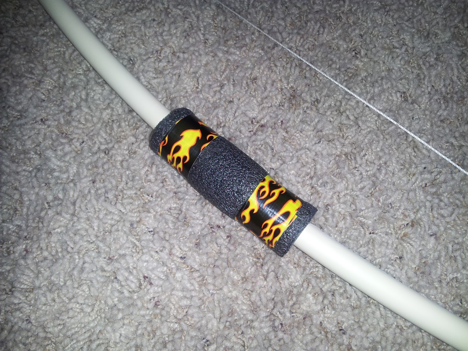Awesome bow and arrows that you can make i 39 m a lazy mom for Bow made out of pvc pipe