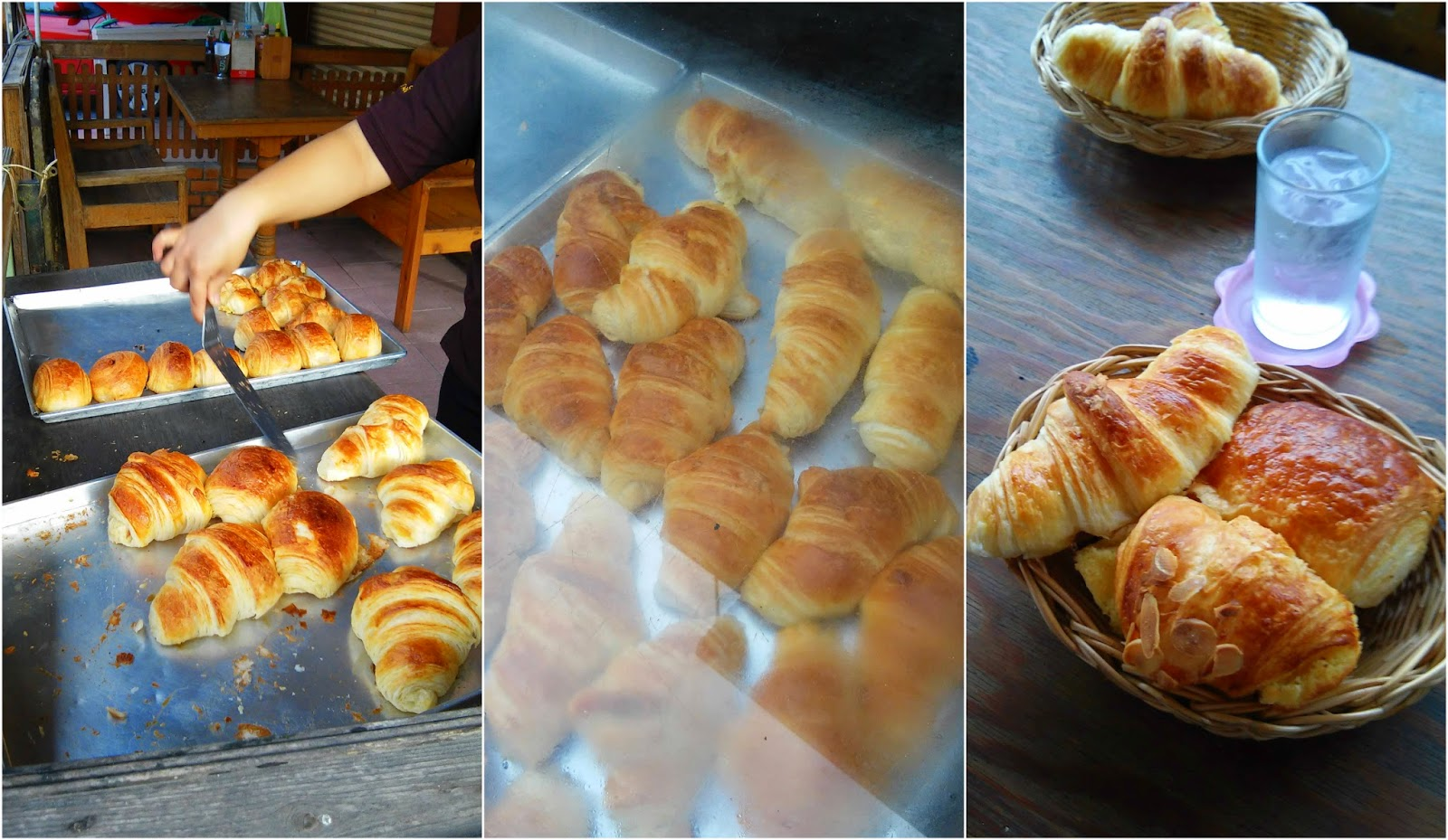 Thailand croissants Chiang Mai bakery