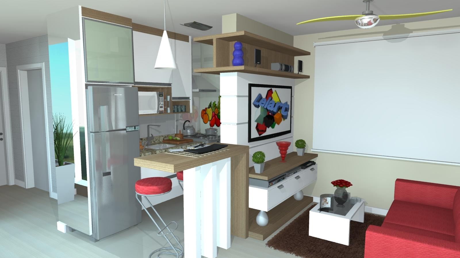 Cozinha Com Copa Moderna Voc No Precisa Se Preocupar Com As Cores