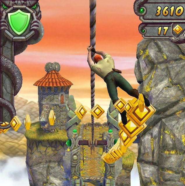 Temple run 2 great android game to pass time