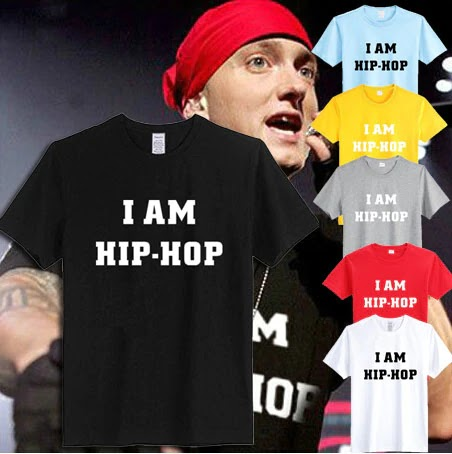 Shady EMINEM T Shirt I AM HIP-HOP