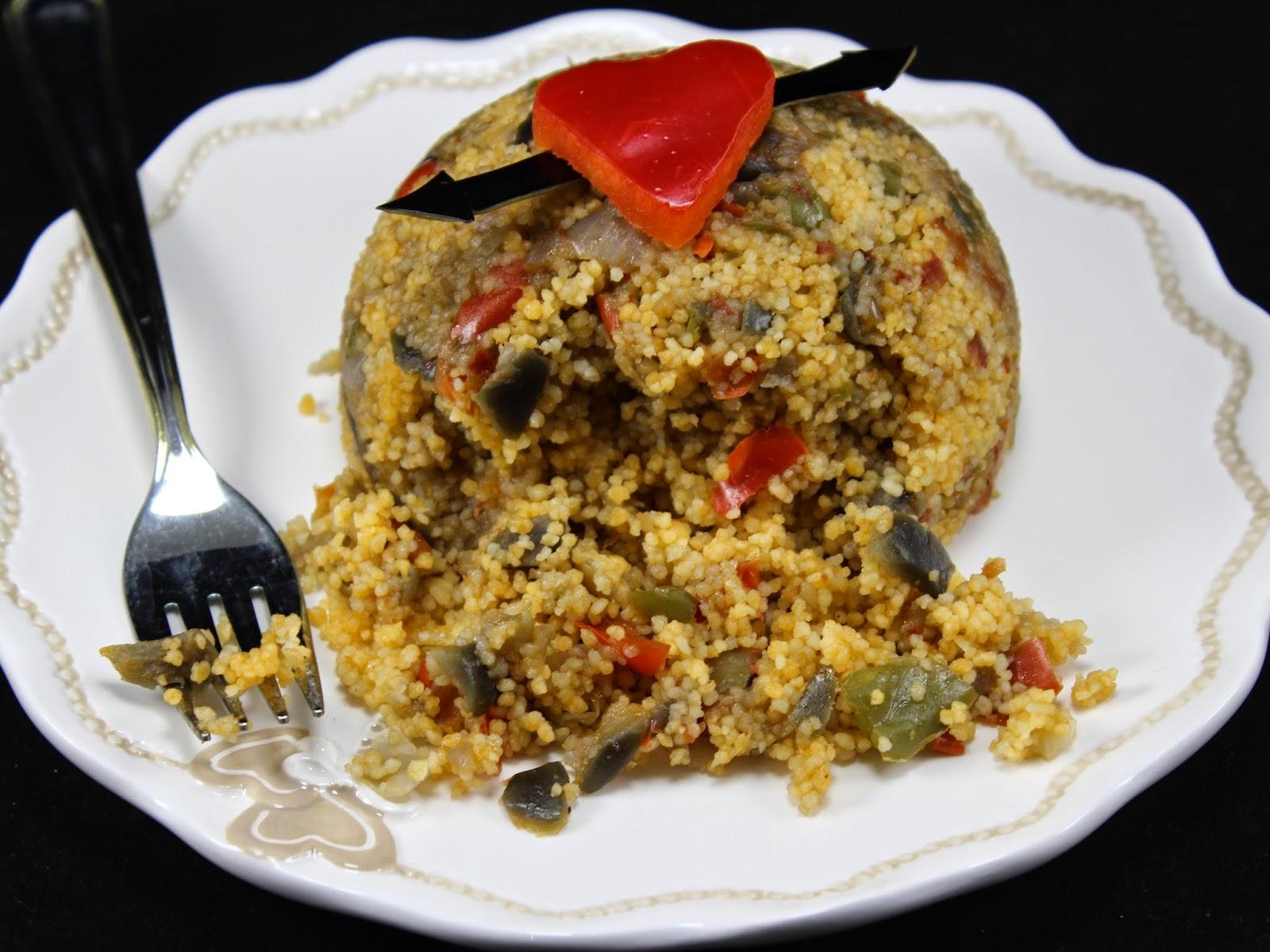 Cus cus de pisto Ana Sevilla cocina tradicional