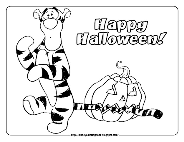 Halloween Coloring Page Pdf Pages With Online Free Image Fdfd Full Version