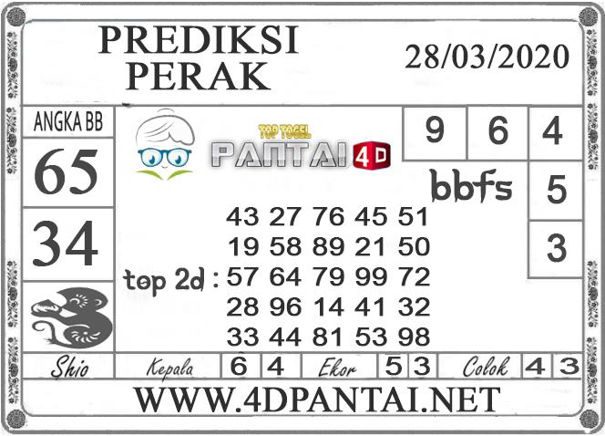 PREDIKSI TOGEL PERAK PANTAI4D 28 MARET 2020