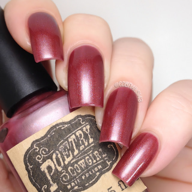 Poetry Cowgirl Nail Polish-Raspberry Wine