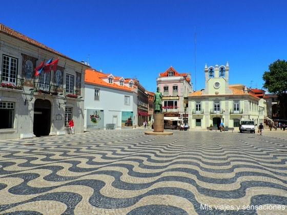 Plaza del Ayuntamiento, Cascais, Portugal