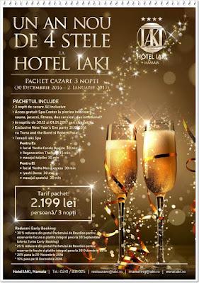 REVELION 2017 Hotel IAKI din Mamaia