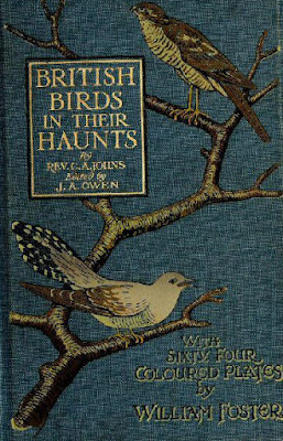 Bird illlustrations on cover of book about birds. Kent Surrey.