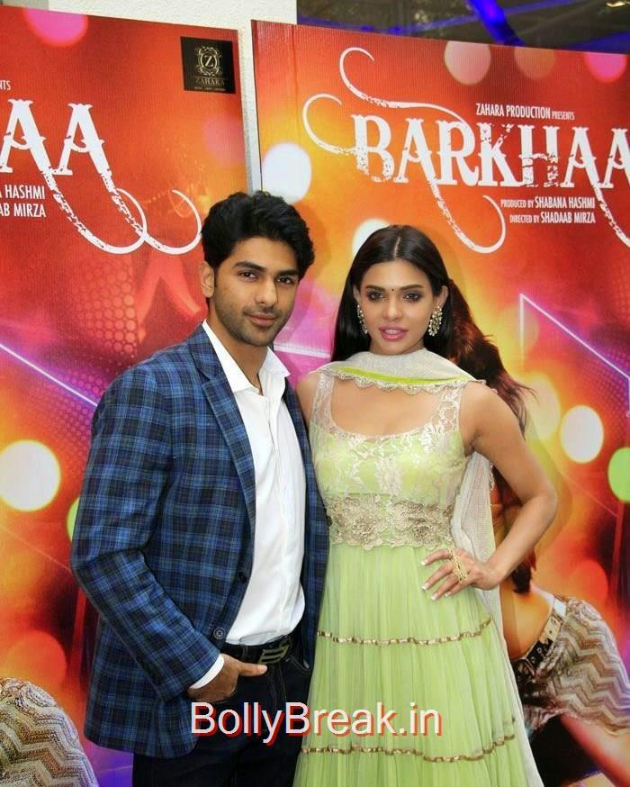 Taaha Shah, Sara Loren, Hot Pics of Sara Loren, Shweta Pandit At 'Barkhaa' Trailer Launch