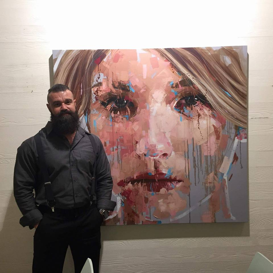 Jimmy law is a self taught artist and painter of expressive portraits and resides in cape town south africa