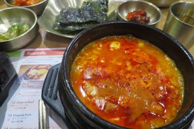 SBCD Korean Tofu House, sundubu