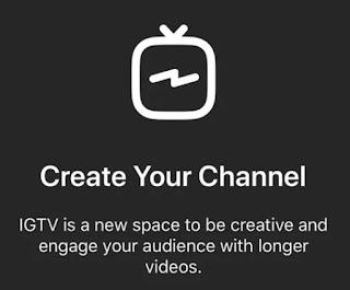 Cara Termudah Mengupload/Unggah Video Ke IGTV !