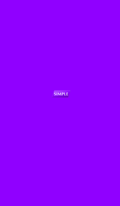 Simple purple tag