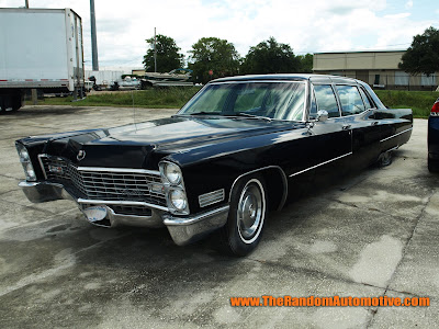 1967 cadillac fleetwood seventy-five 75 limo abandoned retro ridez garage db productions rotting in stye dylan benson gm chevy