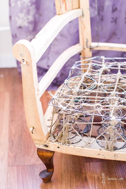 tapicerowanie fotela lirka