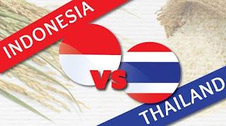 Indonesia vs Thailand 2-3 Semifinal AFF U18  Championship 2017