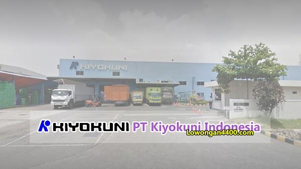 Lowongan Kerja PT Kiyokuni Indonesia - Kawasan EJIP