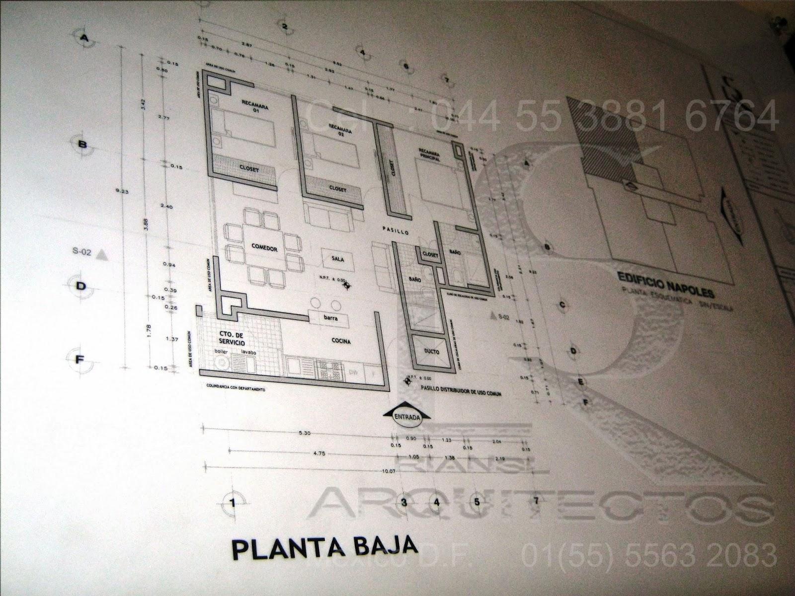 ESPECIALISTAS EN DIBUJO DE PLANOS ARQUITECTONICOS DE CASA HABITACION EN AUTOCAD