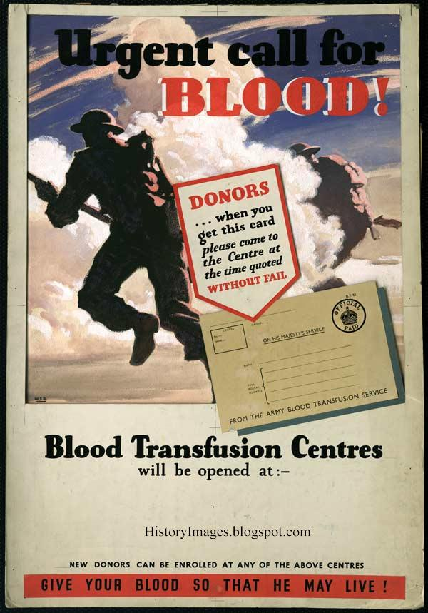 Appeal to donate blood