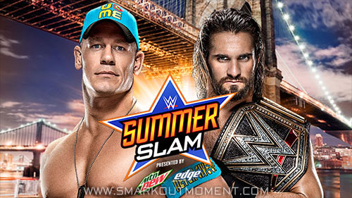WWE SummerSlam 2015 Title Unification Match