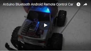 Arduino Bluetooth Android Remote Control Car