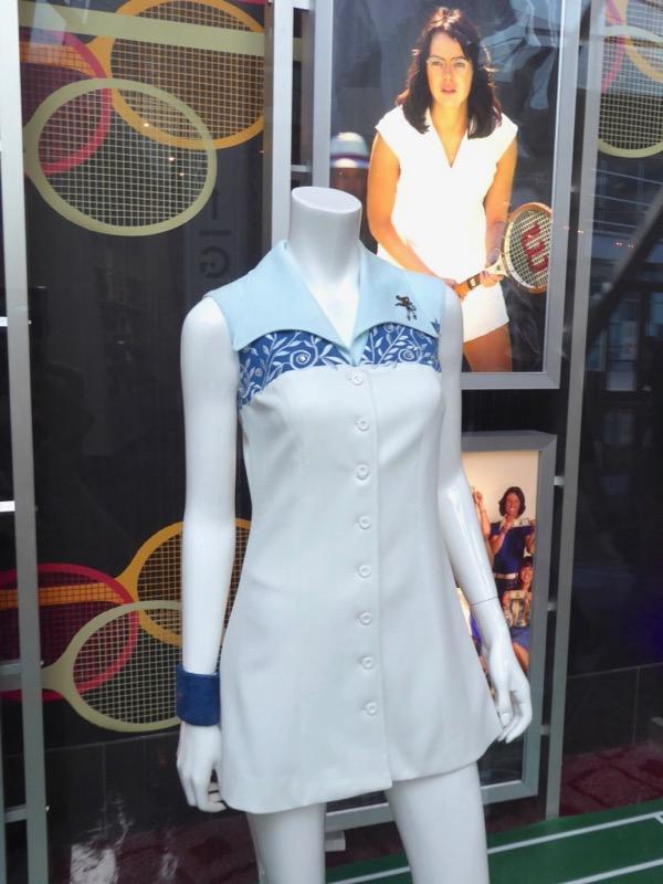 Emma Stone Battle of Sexes Billie Jean King costume