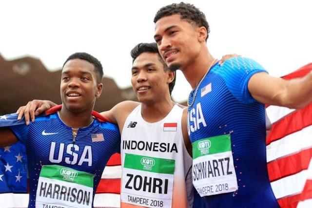 Kisah Membanggakan Atlit Muda Muhammad Zohri Yang Harumkan Indonesia Dengan Medali Emas di Finlandia....