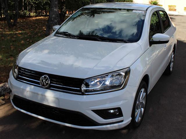 Novo VW Voyage 2019 - teste